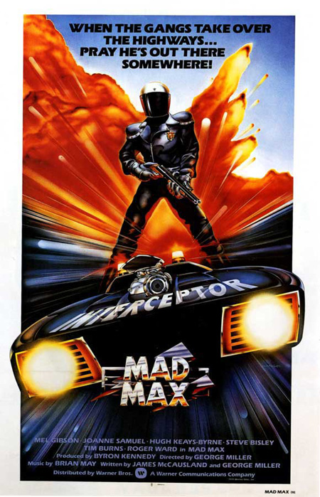 Carmageddon >> space1970: MAD MAX (1979) Theatrical Posters