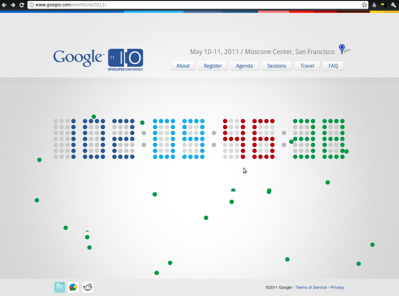 Ross Larson's tech blog: Google I/O 2011 countdown has started!
