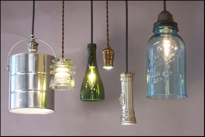 Some Unusual + Quirky Lighting Fixtures To Make