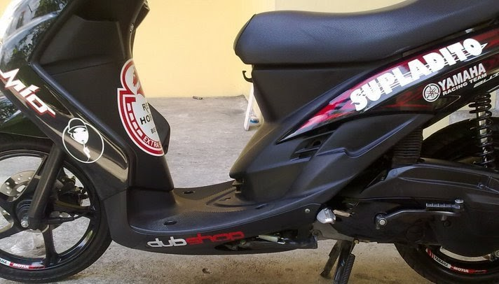 250 Gambar Modifikasi Yamaha Mio Fino Vs Honda Beat