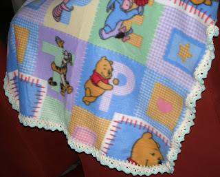 Fleece Baby Blanket Edgings - New Crochet Pattern Book