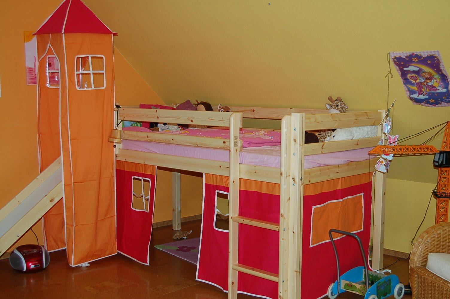 prinzessin hochbett. Black Bedroom Furniture Sets. Home Design Ideas
