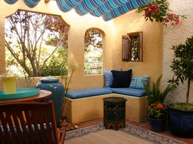 Rainbow The Colours Of India Moroccan Outdoor Living