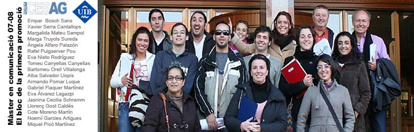 Màster Comunicació CESAG-UIB 2007