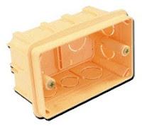 Установочная коробка для розетки и выключателя