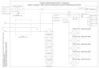 электрическая схема комнаты - электропроводка своими руками