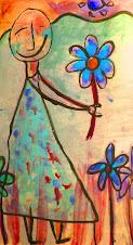toma una flor