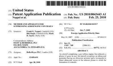 Risultati immagini per chemtrails brevetti