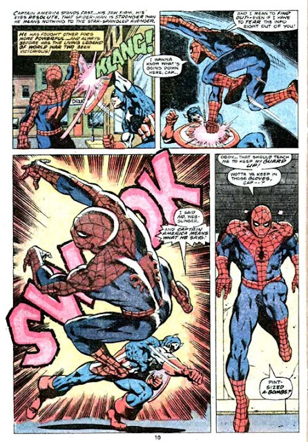 Amazing Spider-Man v1 #187 marvel comic book page art by Jim Starlin