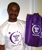 My Relay for Life T-shirt and Bag