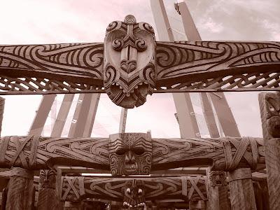 Entrance to Te Puia, Rotorua