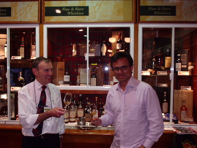 Cata de whiskies en Londres