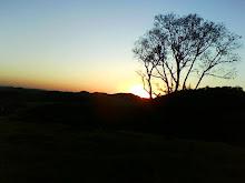 Por do sol  em Laranjeiras do Sul - Pr.