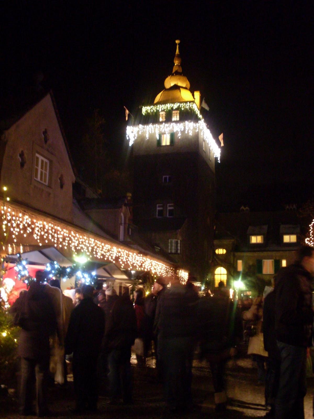 Bergisch Gladbach Weihnachtsmarkt.Weihnachtsmarkt Schlosshotel Lehrbach Wandern Strecke 51465