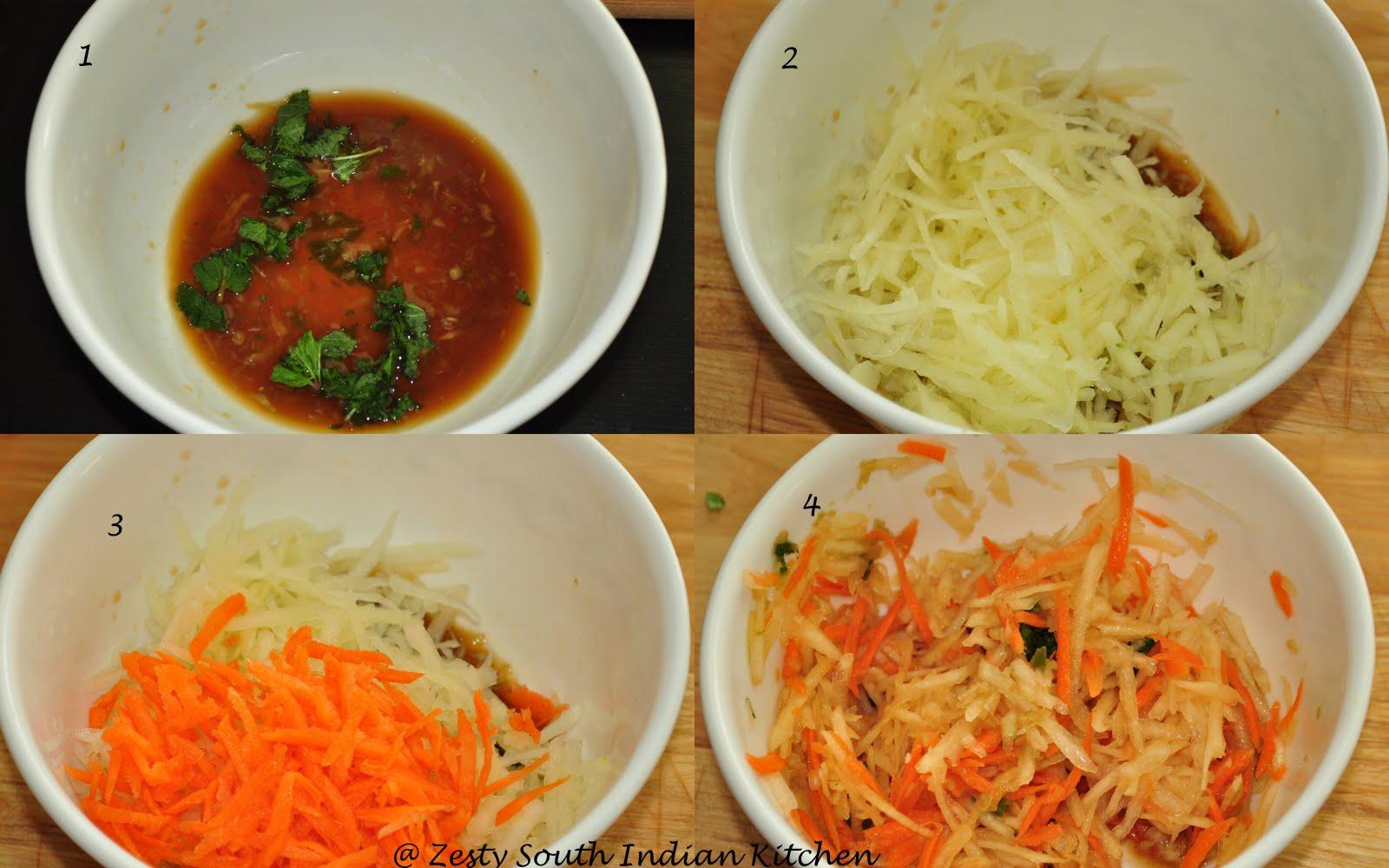 Vietnamese Green Papaya Salad/Gỏi đu đủ - Zesty South ...