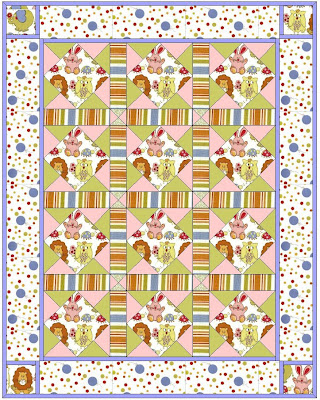 eq baby quilt design