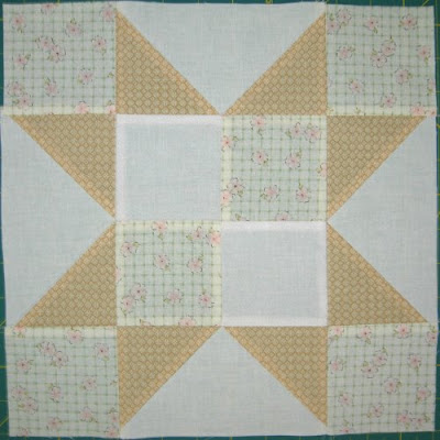 Star Quilt Along week 12 block