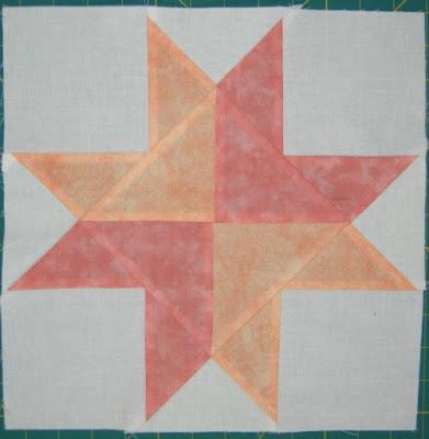 Star Quilt Along week 13 block