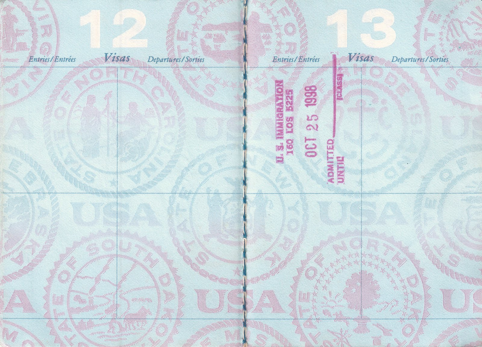 Passport Pages Background | www.imgkid.com - The Image Kid ...