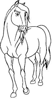 Paarden Kleurplaten Spirit Spirit O Corcel Indom 225 Vel Spirit