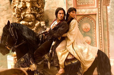 Prince Dastan and Princess Tamina - Prince of Persia The Sands of Time