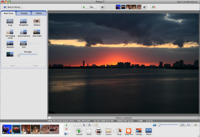 MartinOg Technology and iPhone Blog: Picasa for Mac Sizzles