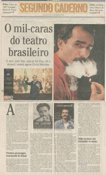 O Mil Caras do teatro Brasileiro