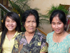 Three Generations of Cambodian Ladies Side By Side