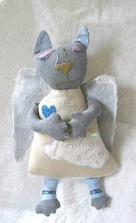 doll winged cat