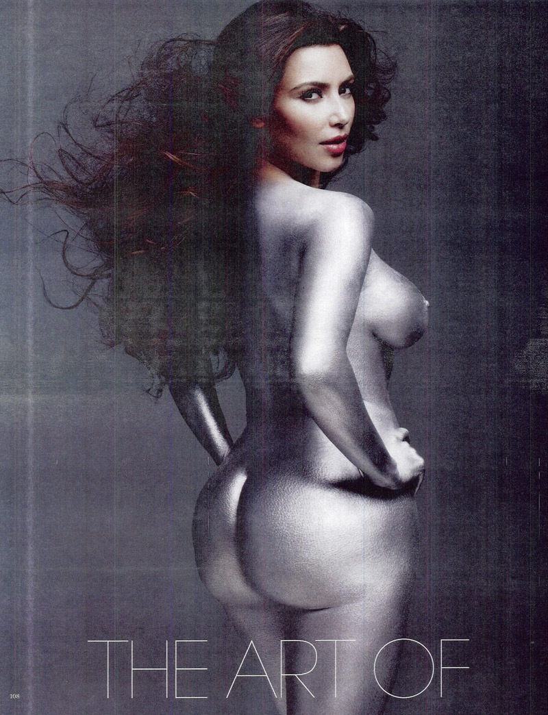 Kim kardasian naked