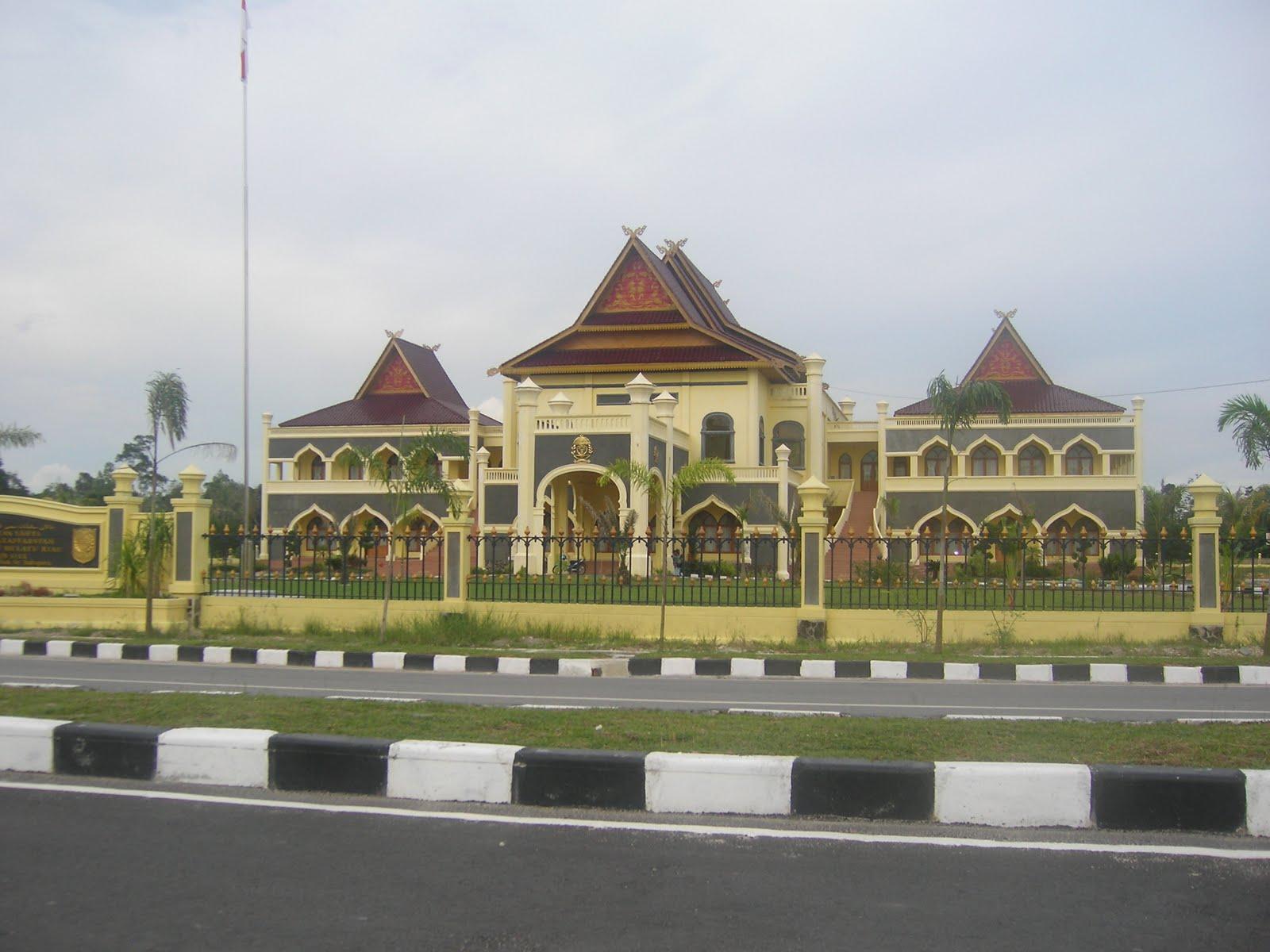 Kumpulan Balai Adat Melayu Riau Irfansyahputra Desain Rumah