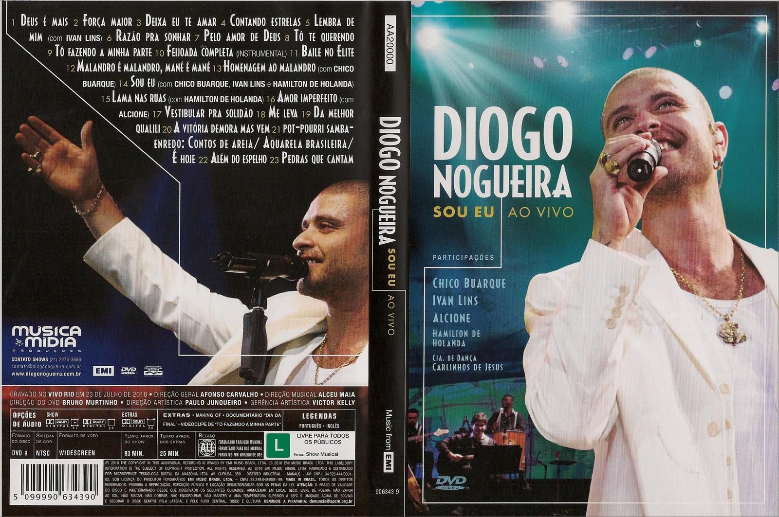 dvd diogo nogueira sou eu 2010