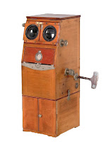 Estereoscopio de finales del s.XIX