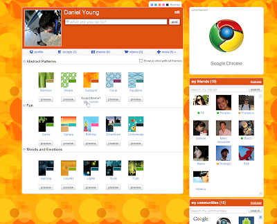 Orkut Theme Browser