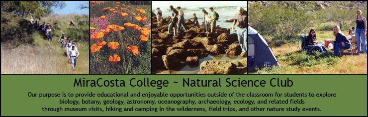 MiraCosta College Natural Science Club