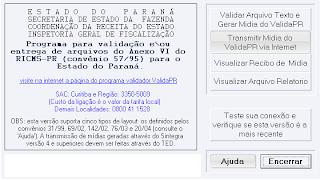 validador sintegra 2009