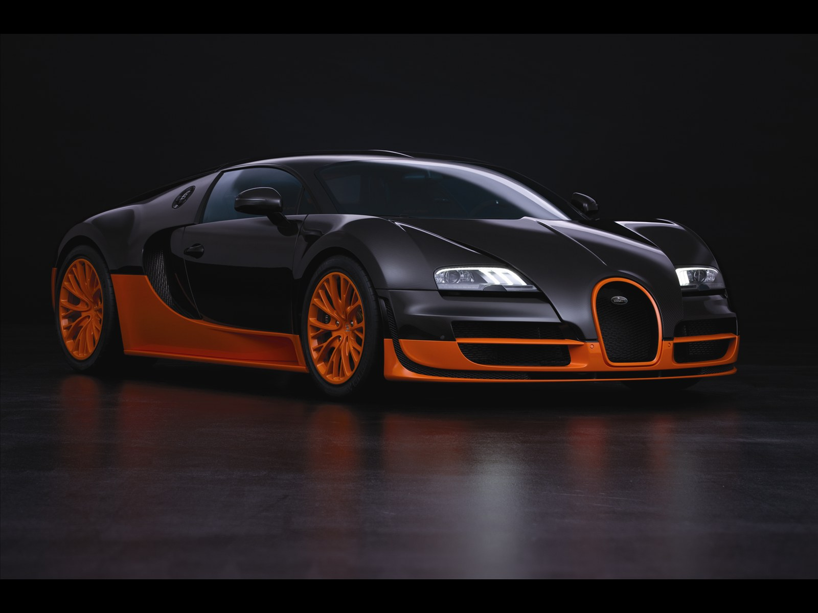 Bugatti Veyron Super Sports Car