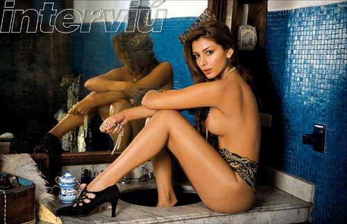 Marilyn Patiño Desnuda Fotos Revista Interviú Foto 1