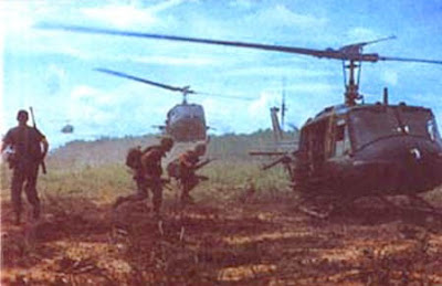 Vietnam War Soldiers Fighting In Color