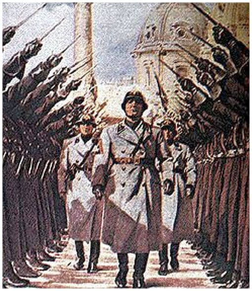 the impact of benito mussolini on the second world war What impact did fascism have on  the second world war  all these can be  italian intervention in world war i benito mussolini and his followers believed that.