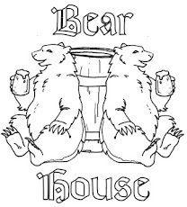 Logo for the bear house.
