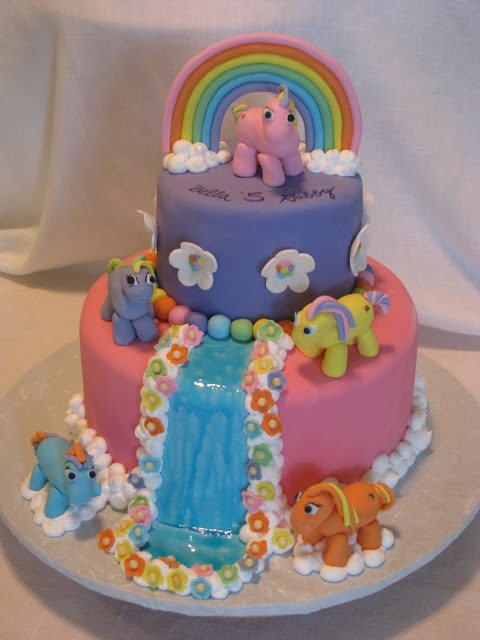 Southern Blue Celebrations Over 20 My Little Pony Cake
