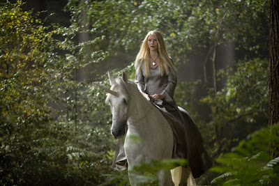 Claire Danes on unicorn