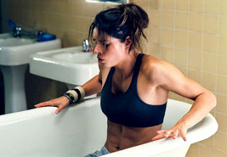 Missy Peregrym in ice