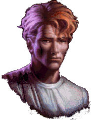 Gabriel Knight portrait from 'Gabriel Knight: Sins of the Fathers'