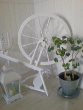Min fina vita spinnrock