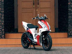 motorcycle: Yamaha Mio Bercover Suzuki Skywave