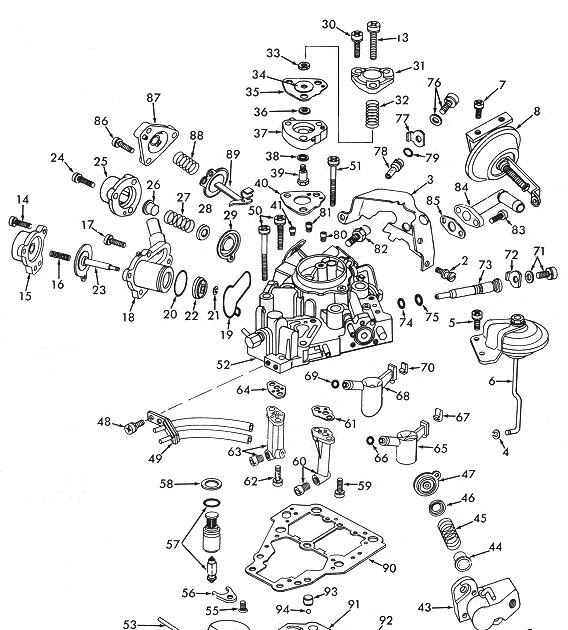 Ajuste de Motor: Despiece Carburador Solex 32-35