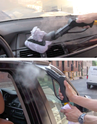 The many usage of steam cleaners using steam cleaner - Cleaning the interior of your car ...