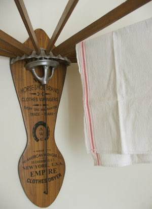 Farmhouse Musings The Vintage Style Wooden Clothes Drying